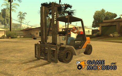 Новый погрузчик для GTA San Andreas