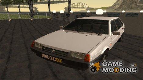 ВАЗ 2109 Сток for GTA San Andreas