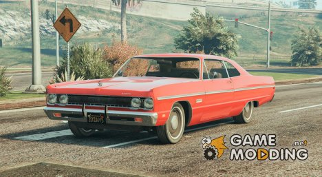 1969 Plymouth Fury III Coupe 1.0 для GTA 5
