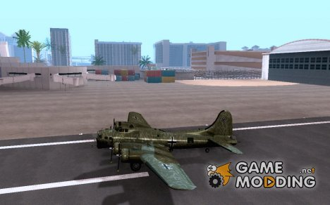 B-17G Flying Fortress (Nightfighter версия) for GTA San Andreas