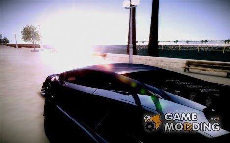 Фиксированный закат for GTA San Andreas
