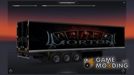 Автономный прицеп Morton для Euro Truck Simulator 2