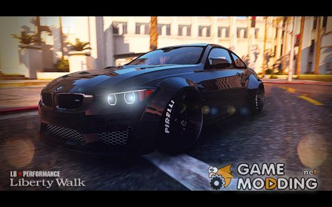BMW M4 F82 LibertyWalk for GTA 5