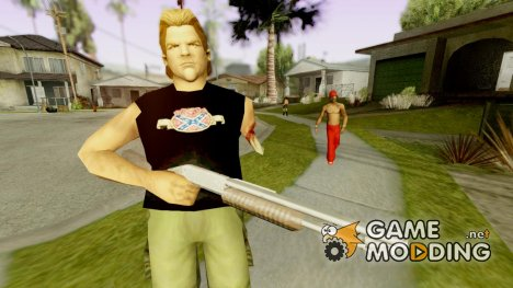 GTA Vice City Phil Cassidy Armless для GTA San Andreas