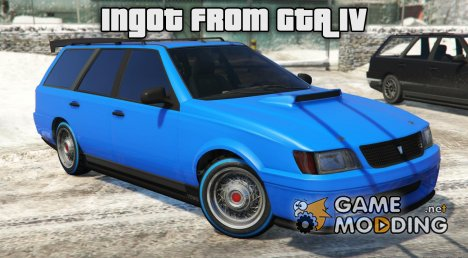 Ingot VD90R from GTA IV for GTA 5