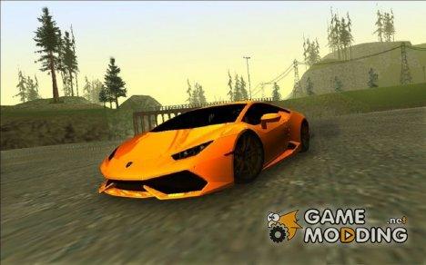 Lamborghini Huracan for GTA Vice City