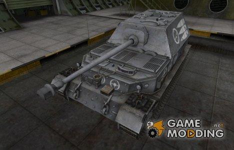 Зоны пробития контурные для Ferdinand for World of Tanks
