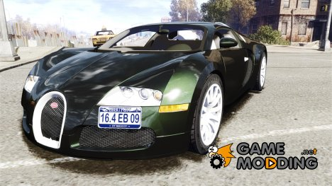 Bugatti Veyron 16.4 2009 v.2 for GTA 4