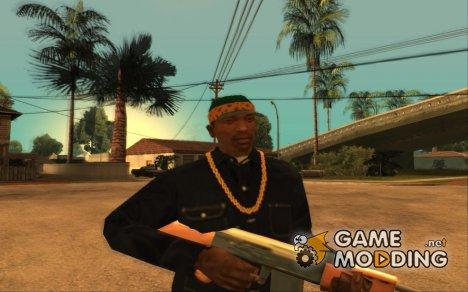 Зеленая кепка с банданой для GTA San Andreas