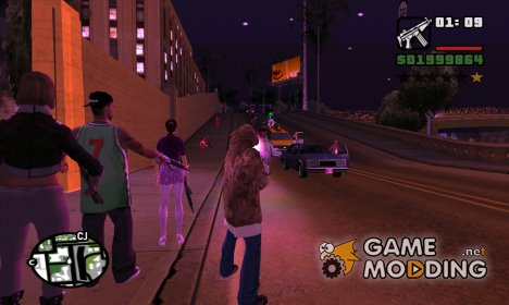 Saints Row Pack by Nik100203 для GTA San Andreas