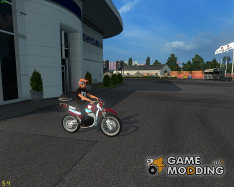 Yamaha Motorcycle for Euro Truck Simulator 2
