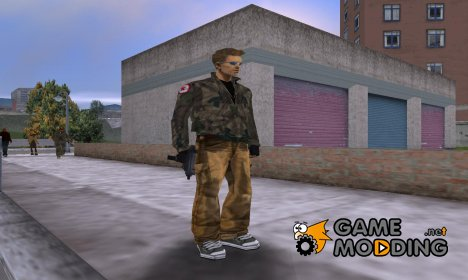 Армейский скин for GTA 3