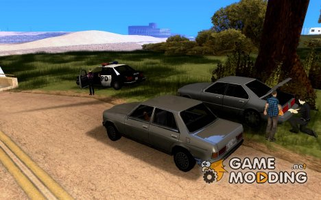 Пост ГАИ (mos_cracin's version) для GTA San Andreas