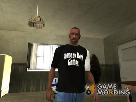 Футболка Company Dark Gamer для GTA San Andreas
