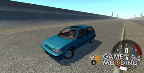 Honda Civic SI 1986 for BeamNG.Drive
