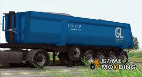Прицеп самосвал Тонар для GTA San Andreas