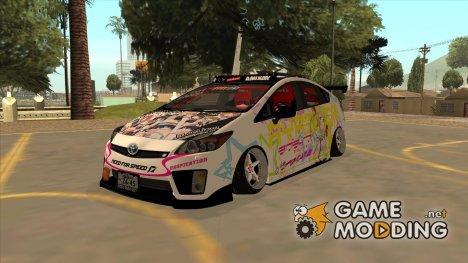 Toyota Prius Hybrid Love Live Itasha для GTA San Andreas