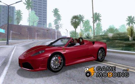 Ferrari F430 Scuderia Spider 16M for GTA San Andreas