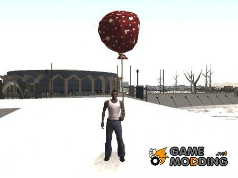 Мешок Деда Мороза для GTA San Andreas