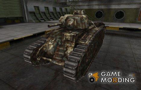 Горный камуфляж для PzKpfw B2 740 (f) для World of Tanks