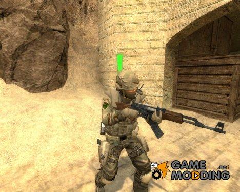d0nn's Desert UrbanMedic для Counter-Strike Source