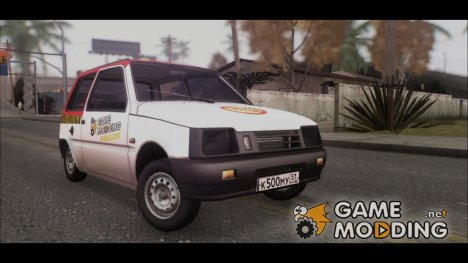 "ВАЗ 1111 Ока ""Полиция Gamemodding"" for GTA San Andreas"