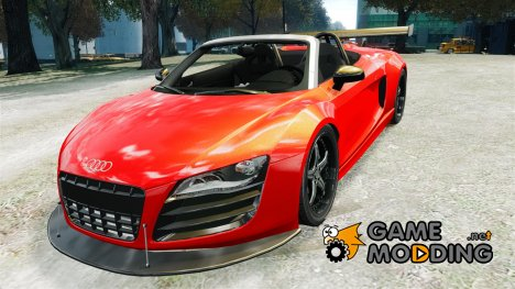 Audi R8 Spider Body Kit (NFS SHIFT 2) for GTA 4