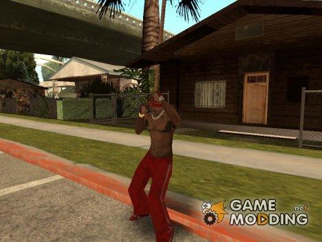 Новое поведение прохожих for GTA San Andreas