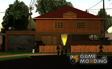 Дом CJ, на Grove Street for GTA San Andreas