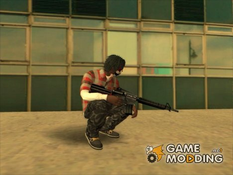 M4 default 'quality для GTA San Andreas