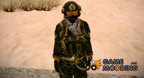 Боец OGA (MoHW) v2 for GTA San Andreas