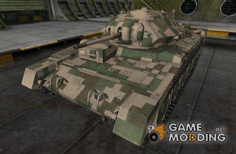 Шкурка для Crusader for World of Tanks