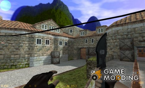 Traker Knife для Counter-Strike 1.6