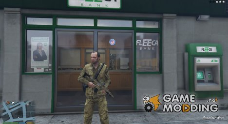 Bank Robbery v0.13 for GTA 5