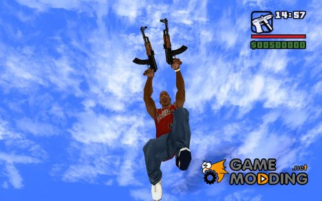 Новый TEC9 for GTA San Andreas