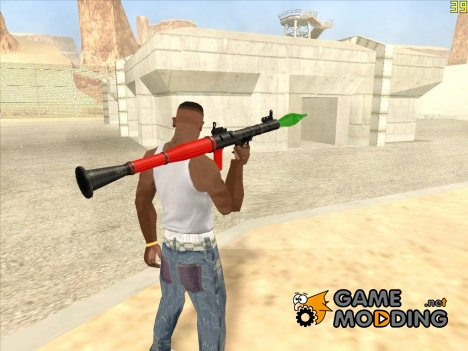 RPG by crow for GTA San Andreas