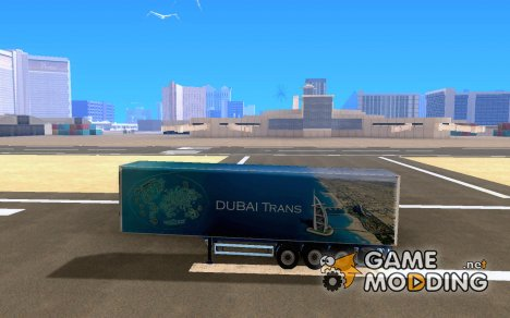 Прицеп для Scania R620 Dubai Trans for GTA San Andreas