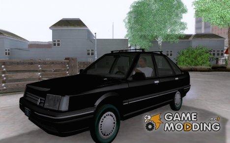 Renault 21 GTD для GTA San Andreas
