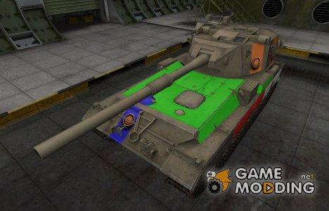 Качественный скин для FV215b (183) для World of Tanks
