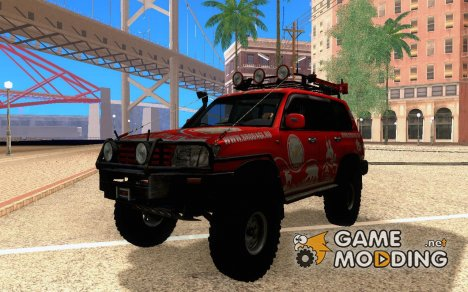Toyota Land Cruiser 100 Off-Road для GTA San Andreas