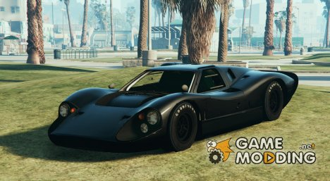 Ford GT Mk IV for GTA 5