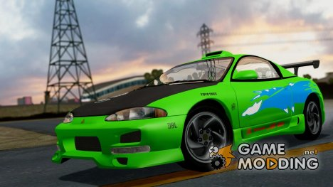 Mitsubishi Eclipse GST 1995 for GTA San Andreas
