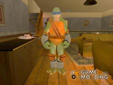 Леонардо (Черепашки-ниндзя) для GTA San Andreas