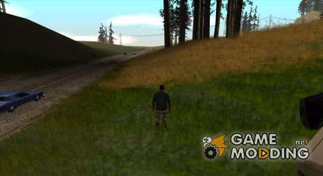 Geart Grass Mod for GTA San Andreas