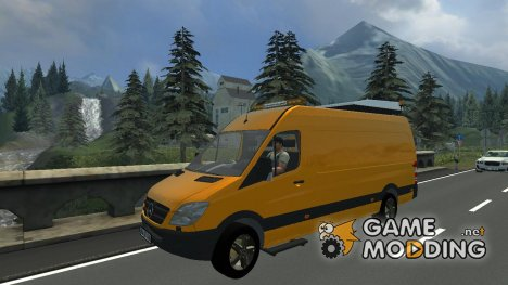 Mercedes-Benz Sprinter 315 для Farming Simulator 2013