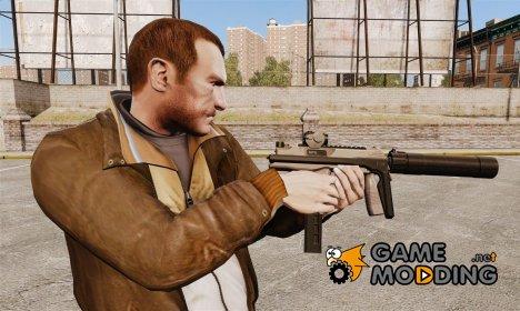 Тактический пистолет-пулемёт MP9 v1 для GTA 4