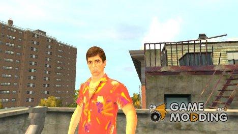 Тони Монтана для GTA 4