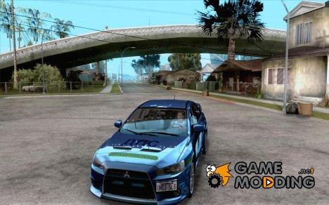 Mitsubishi Lancer Evolution X ДПС для GTA San Andreas