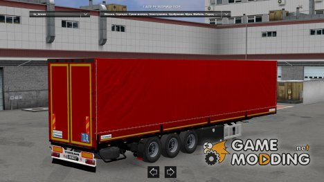 Tirsan Standalone Trailer and Trailer Wheel for Euro Truck Simulator 2