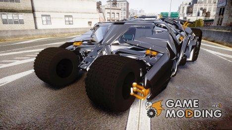 Batman tumbler для GTA 4